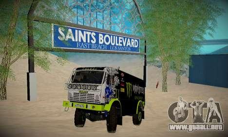 Pista de off-road para GTA San Andreas