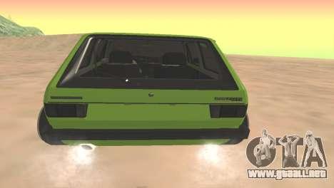 Volkswagen Golf Mk1 Low para la visión correcta GTA San Andreas