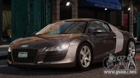 Audi R8 v1.1 para GTA 4