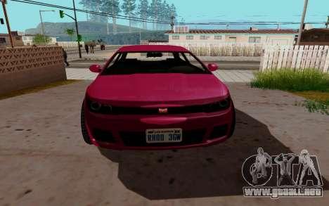 Dinka Blista GTA V para GTA San Andreas left