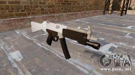 El subfusil HK MP5 para GTA 4