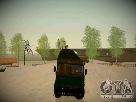 Pista de off-road para GTA San Andreas novena de pantalla