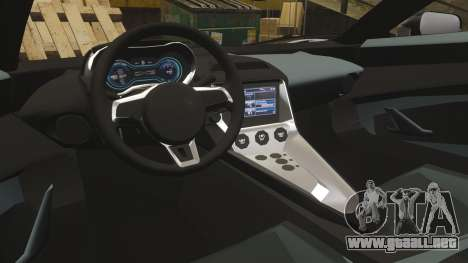 Jaguar C-X75 [EPM] Carbon Series para GTA 4 vista lateral