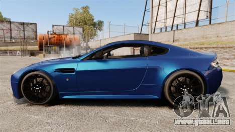 Aston Martin V12 Vantage S 2013 para GTA 4 left