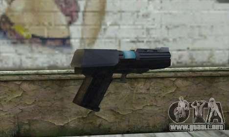 La pistola de Star Wars para GTA San Andreas segunda pantalla