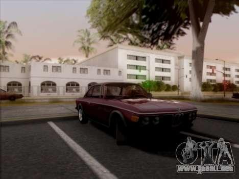 BMW 3.0 CSL 1971 para GTA San Andreas vista posterior izquierda