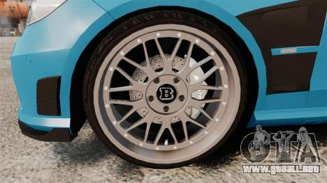 Mercedes-Benz B63 S Brabus para GTA 4 vista hacia atrás