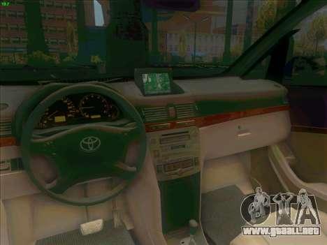 Toyota Alphard para GTA San Andreas vista hacia atrás