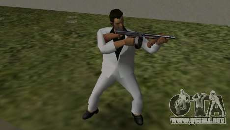 Traje Blanco para GTA Vice City tercera pantalla
