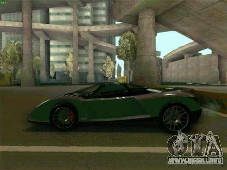 Cheetah Grotti GTA V para GTA San Andreas left