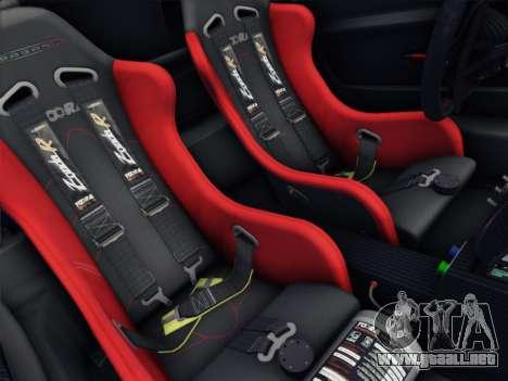 Pagani Zonda R 2009 para vista lateral GTA San Andreas