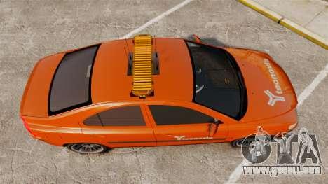 Volvo S60 tecnovia [ELS] para GTA 4 visión correcta