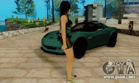 Kokoro A7X para GTA San Andreas tercera pantalla