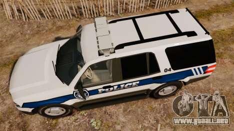 Ford Expedition LCPD SSV v2.5F [ELS] para GTA 4 visión correcta