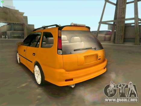 Toyota Carib para GTA San Andreas left