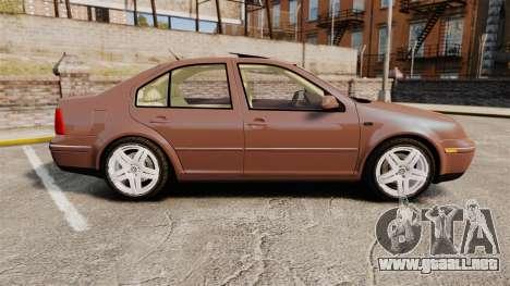 Volkswagen Bora 1.8T Camel para GTA 4 left