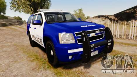 Chevrolet Tahoe 2008 LCPD [ELS] para GTA 4
