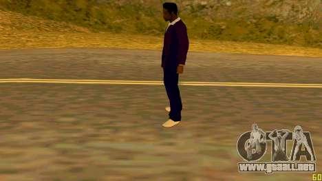 La nueva textura de Jizzy HQ para GTA San Andreas sucesivamente de pantalla