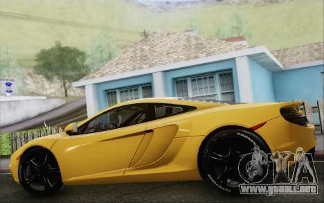 McLaren MP4-12C para GTA San Andreas left