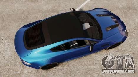 Aston Martin V12 Vantage S 2013 para GTA 4 visión correcta