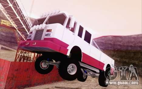 Offroad Firetruck para GTA San Andreas left
