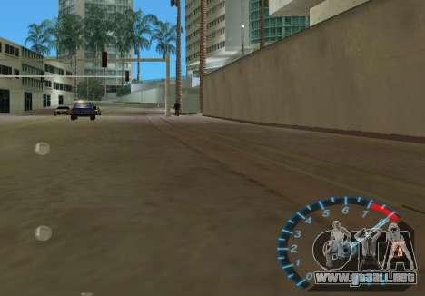 El velocímetro de NFS Underground para GTA Vice City quinta pantalla