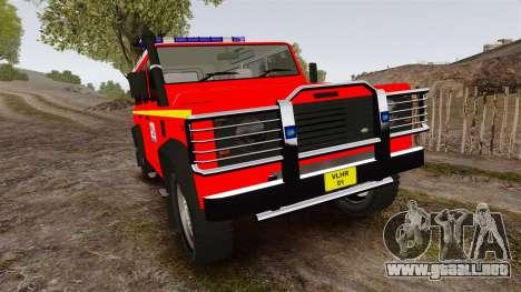 Land Rover Defender VLHR SDIS 42 [ELS] para GTA 4