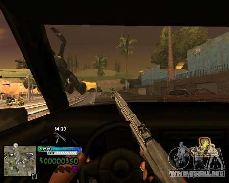 Vista de la primera persona para GTA San Andreas tercera pantalla