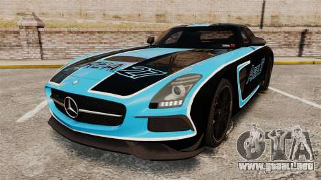 Mercedes-Benz SLS 2014 AMG Black Series Area 27 para GTA 4