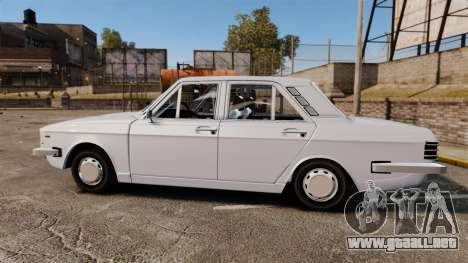 IKCO Paykan 1970 para GTA 4 left