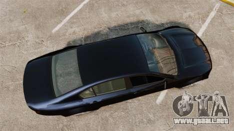 GTA V Cheval Fugitive para GTA 4 visión correcta