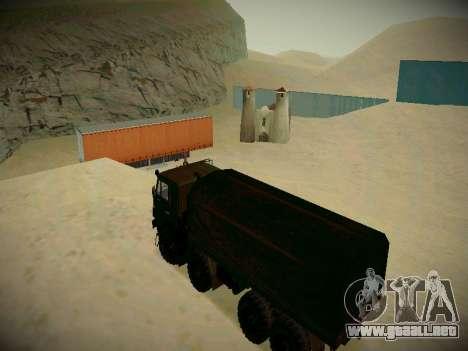 Pista de off-road para GTA San Andreas octavo de pantalla