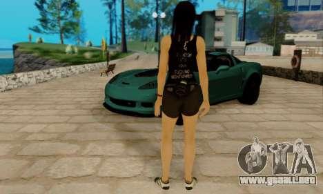 Kokoro A7X para GTA San Andreas quinta pantalla
