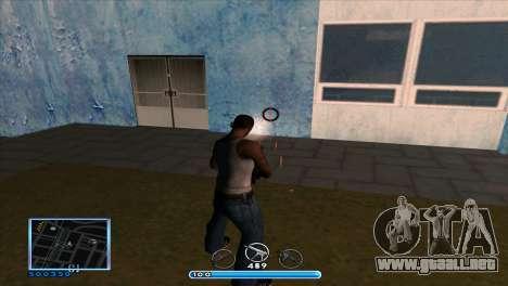C-HUD by Andr1k para GTA San Andreas sucesivamente de pantalla