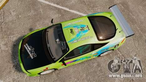 Mitsubishi Ecplise GS 1995 Racing Style para GTA 4 visión correcta