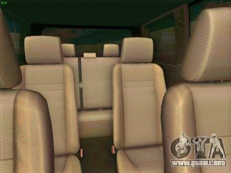 Toyota Alphard para visión interna GTA San Andreas