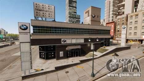 Concesionario BMW para GTA 4