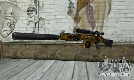 Rifle De Francotirador para GTA San Andreas