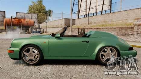 Porsche 911 Speedster para GTA 4 left