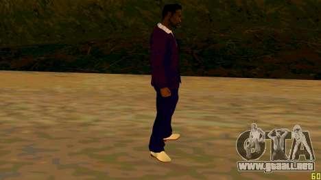 La nueva textura de Jizzy HQ para GTA San Andreas tercera pantalla