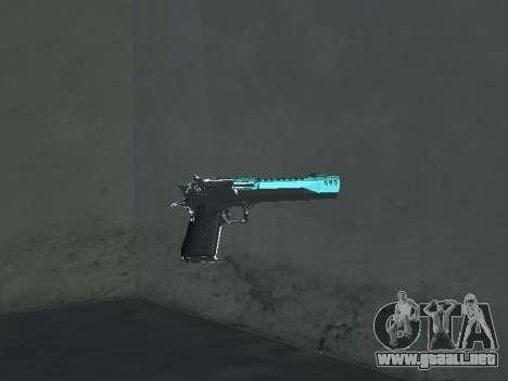 Un Nuevo Pack De Armas para GTA San Andreas