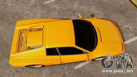 Ferrari Testarossa 512 TR v2.0 para GTA 4 visión correcta
