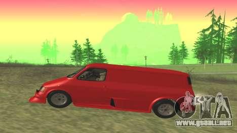 Ford Transit Supervan 3 Personalizado para GTA San Andreas left
