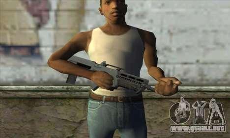 GTA V Advanced Rifle para GTA San Andreas tercera pantalla