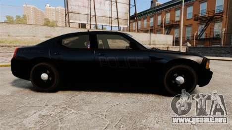 Dodge Charger Slicktop Police [ELS] para GTA 4 left