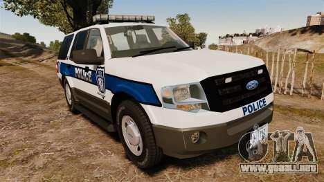 Ford Expedition LCPD SSV v2.5F [ELS] para GTA 4