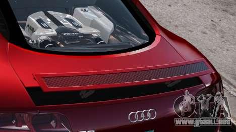 Audi R8 v1.1 para GTA motor 4