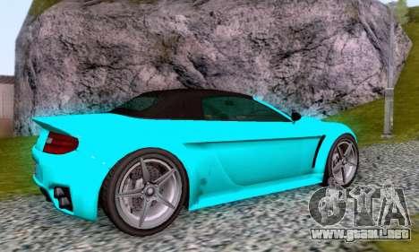 GTA V Rapid GT Cabrio para la vista superior GTA San Andreas
