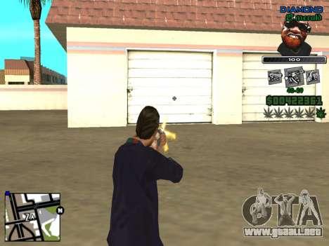 C-HUD by Misterio para GTA San Andreas