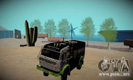 Pista de off-road para GTA San Andreas tercera pantalla